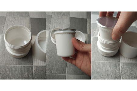 オルビスオフクリームの詰め替え方法